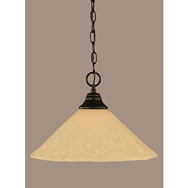 Toltec Lighting Elegante 1-Light Mini Pendant