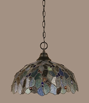 Toltec Lighting 1-Light Mini Pendant
