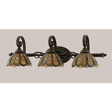 Toltec Lighting Elegante 3-Light Vanity Light