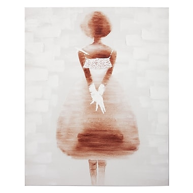 Home Details Painting Lady in White