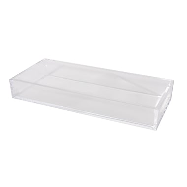 Home Details Acrylic Tray, Clear