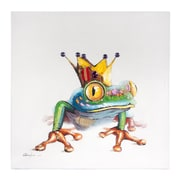 Home Details Frog Painting
