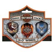 Harley-Davidson Harley Davidson  Wings Triple Pack Eagle