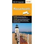 Universal Map Massachusetts State Map Fold Map