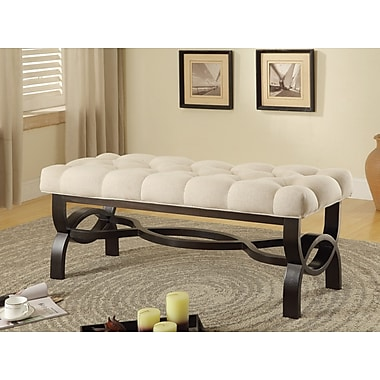 Wildon Home Bedroom Bench; 19'' H x 48'' W x 18'' D