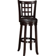 Wildon Home   29'' Bar Stool w/ Cushion; Espresso