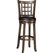 Wildon Home   29'' Bar Stool w/ Cushion; Oak