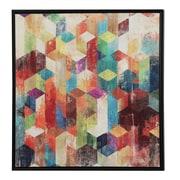 Wildon Home   Kaleidoscope Framed Graphic Art
