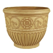 Arcadia Garden Products Composite Pot Planter; Beige