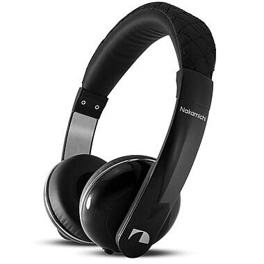 Nakamichi® NK2010 Over-The-Head Stereo Headphones, Black