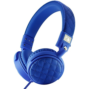 Nakamichi® NK600 Over-The-Ear Fashion Stereo Headphones, Blue