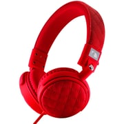 Nakamichi® NK600 Over-The-Ear Fashion Stereo Headphones, Red
