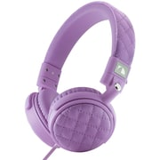Nakamichi® NK600 Over-The-Ear Fashion Stereo Headphones, Violet