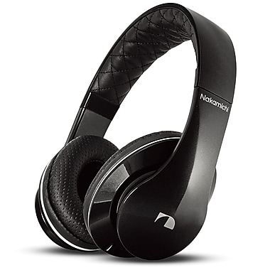 Nakamichi® NK950 Over-The-Ear Stereo Headphones, Black