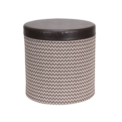 Household Essentials Storage Ottoman with Padded Seat