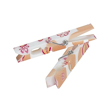 Household Essentials Clothespins, Modern Floral