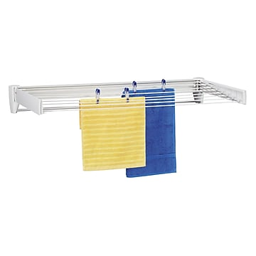 Leifheit Stainless Steel Wall Mount Drying Rack, 100 (83100)