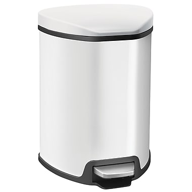 EKO Grace Trash Can, White