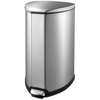 EKO 35 Litre Grace Trash Can, Stainless steel