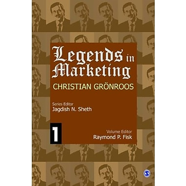 Legends in Marketing: Christian Gronroos, New Book (9788132110026)