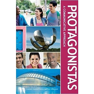 Protagonistas Student Edition w/ Supersite Code, New Book (9781617670701)