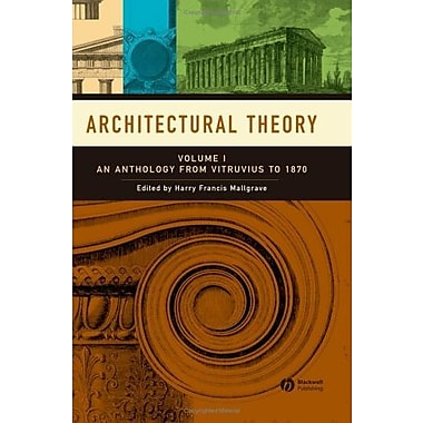 Architectural Theory, New Book (9781405102575)