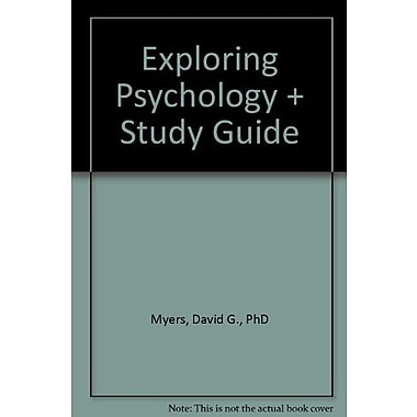 Exploring Psychology & Study Guide, (9781464146664)