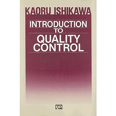 Introduction to Quality Control, Used Book (9784906224616)