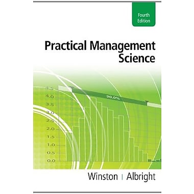 Bundle: Practical Management Science (Essential Textbook Resources Printed Access Card), New Book (9781133073406)