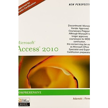 Bundle: New Perspectives on Microsoft Excel 2010: Comprehensive + New Perspectives on Microsoft Access 2010, New Book