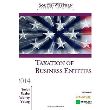 South-Western Federal Taxation 2014: Taxation of Business Entities, Pro. Edition, New Book (9781285181547)