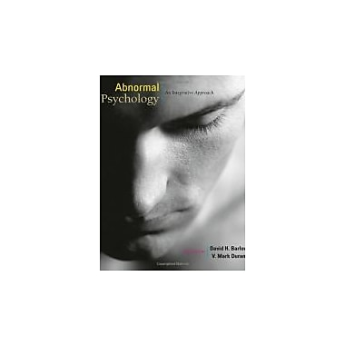 Abnormal Psychology: An Integrative Approach (with CourseMate Printed Access Card), Used Book (9781111343620)