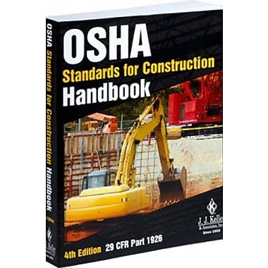 OSHA Standards for Construction Handbook - 4th Edition, New Book (9781602878921)