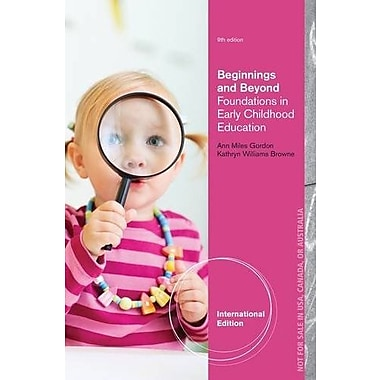 Beginnings and Beyond: Foundations in Early Childhood Education, Used Book (9781133940531)