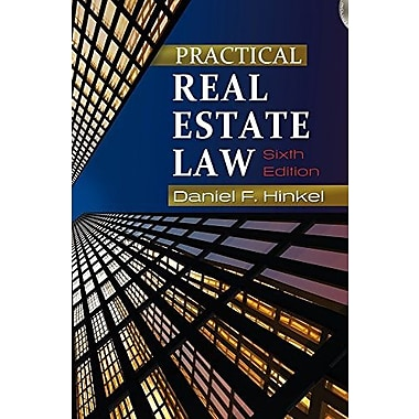 Practical Real Estate Law (Book Only), Used Book (9781111319052)