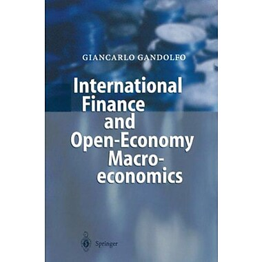 International Finance and Open-Economy Macroeconomics: Study Edition, (9783540417309)