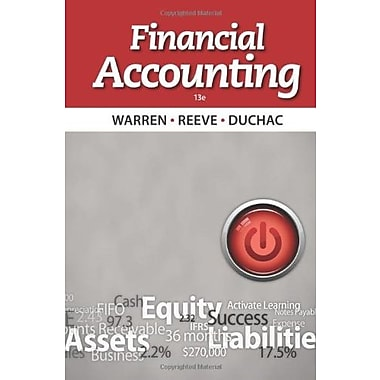 Financial Accounting, Used Book (9781133607618)
