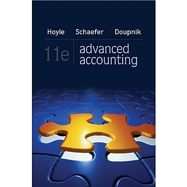 Advanced Accounting, (9780078025402)