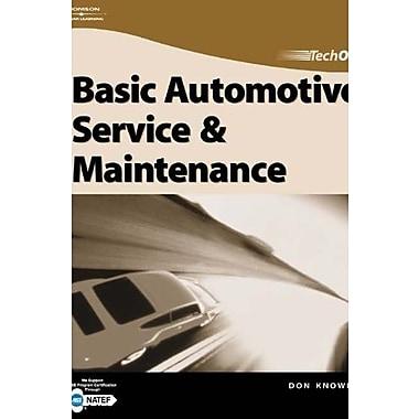 TechOne: Basic Automotive Service & Maintenance, New Book (9781401852085)