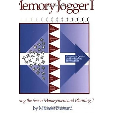 The Memory Jogger Plus + Featuring the Seven Management and Planning Tools, New Book (9781879364837)