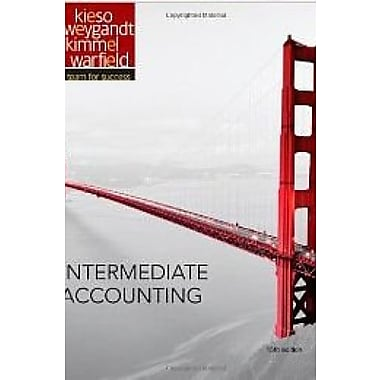 Intermediate Accounting 15th Edition Kieso with Wiley Plus Access Code [Hardcover], New Book (9781118566138)