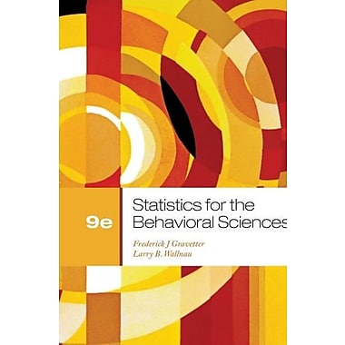 Bundle: Statistics for the Behavioral Sciences, 9th + Aplia Printed Access Card (9781133395713)