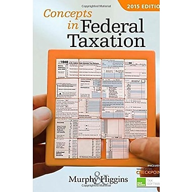 Concepts in Federal Taxation 2015, New Book (9781285439815)