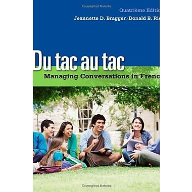 Du tac au tac: Managing Conversations in French (with Premium Web Site Printed Access Card), Used Book (9781133311270)