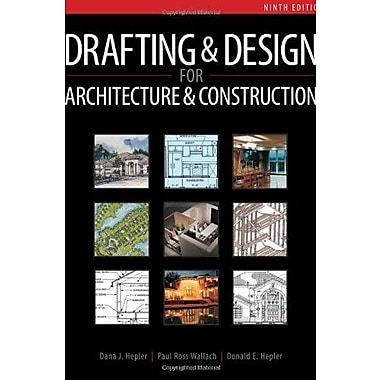 Drafting and Design for Architecture & Construction, New Book (9781111128135)