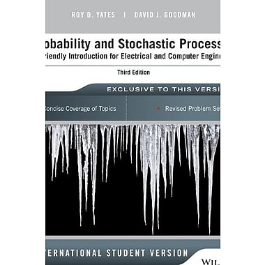 Probability and Stochastic Processes: A Friendly Introduction for Electrical & Computer Engineers, Used Book (9781118808719)