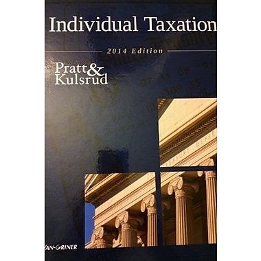 Individual Taxation 2014 Edition (Taxation series), Used Book (9781617400964)