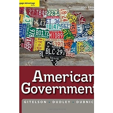 Cengage Advantage Books: American Government, New Book (9781111342036)