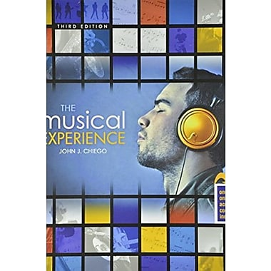The Musical Experience, New Book (9781465213822)
