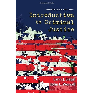 Introduction to Criminal Justice, Used Book (9781285069012)